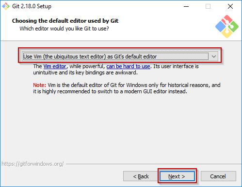 Git Windows Installation