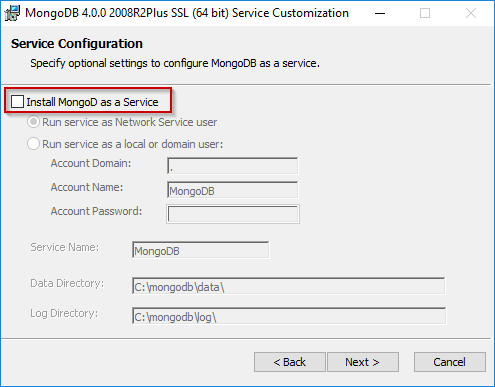 MongoDB Windows Installation