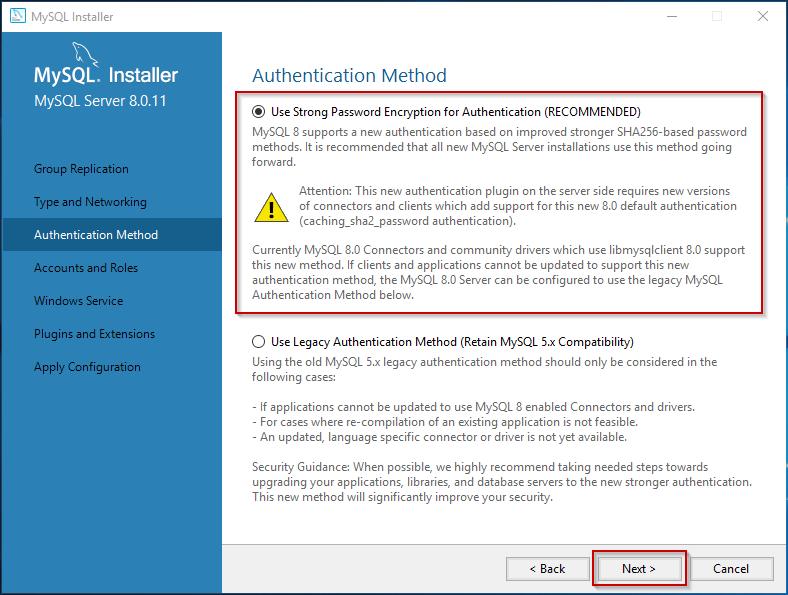 MySQL Windows Installation