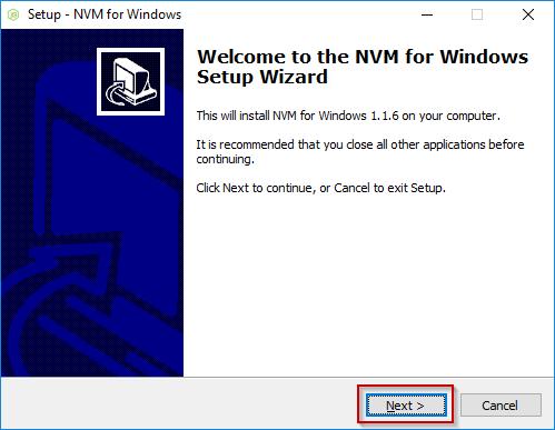 nvm Windows Installation