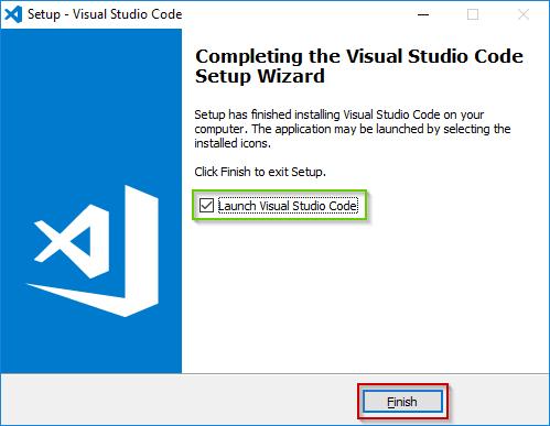 Visual Studio Code Windows Installation